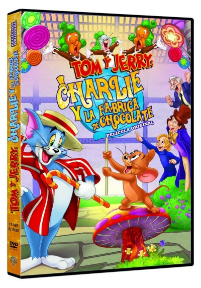 Tom y Jerry & Charlie y la Fábrica de Chocolate (Tom & Jerry: Willy Wonka and the Chocolate Factory)
