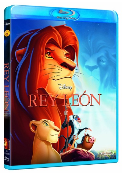 El Rey Leon (Blu-Ray) (The Lion King)