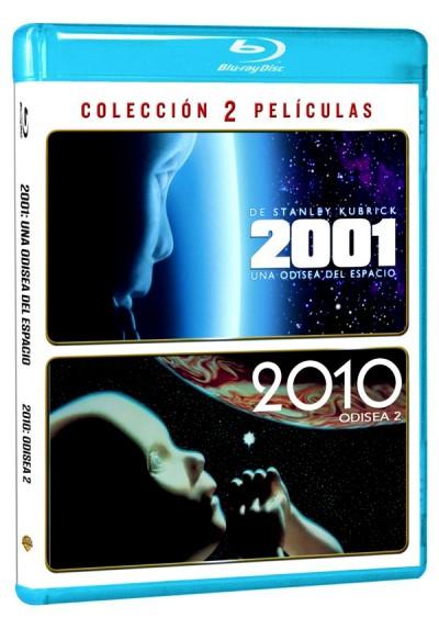 Pack 2001: Odisea + 2010: Odisea 2 (Blu-Ray)