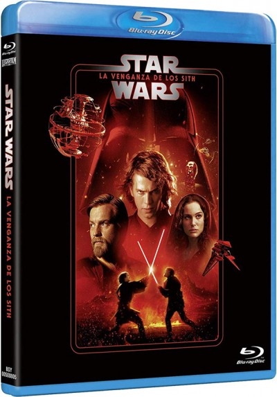 La guerra de las galaxias. Episodio III: La venganza de los Sith (Blu-ray) (Star Wars: Episode III Revenge of the Sith)