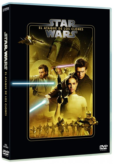 La guerra de las galaxias. Episodio II: El ataque de los clones (Star Wars. Episode II: Attack of the Clones)
