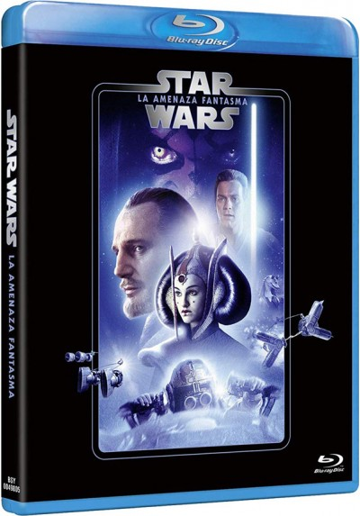 La guerra de las galaxias. Episodio I: La amenaza fantasmas (Blu-ray) (Star Wars. Episode I: The Phantom Menace)