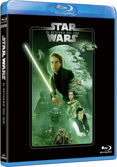 La guerra de las galaxias. Episodio VI: El retorno del Jedi (Blu-ray) (Star Wars. Episode VI: Return of the Jedi)