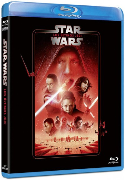 Star Wars: Los últimos Jedi (Blu-ray) (Star Wars: The Last Jedi)
