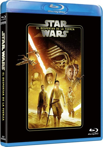 Star Wars: El despertar de la Fuerza (Blu-ray) (Star Wars. Episode VII: The Force Awakens)