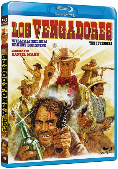 Los Vengadores (Blu-ray) (The Revengers)