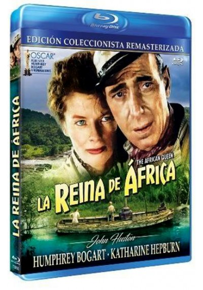 La Reina De Africa (Blu-ray) (The African Queen)