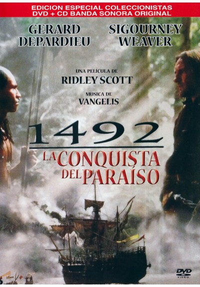 1492 : La Conquista Del Paraiso (1492: Conquest Of Paradise) (DVD + CD)