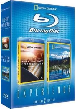 Pack Blu-Ray Experience: Investigaciones Espaciales y Parques Naturales de Norteamérica