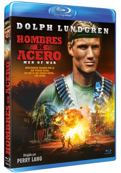Hombres de acero (Blu-ray) (Men of War)