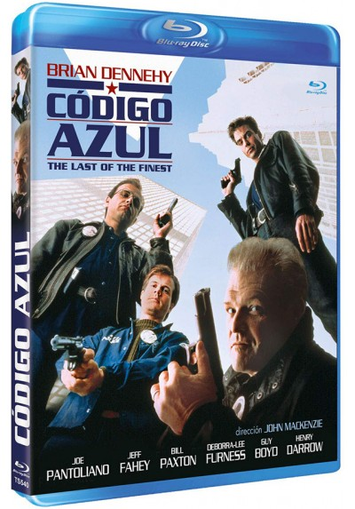 Código azul (Blu-ray) (The Last of the Finest)