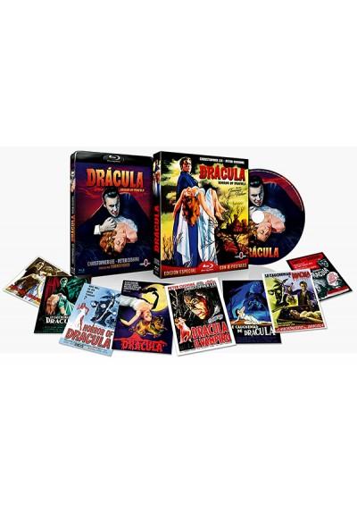 Drácula 1958 (Blu-ray) Edición con Funda y 8 Postales
