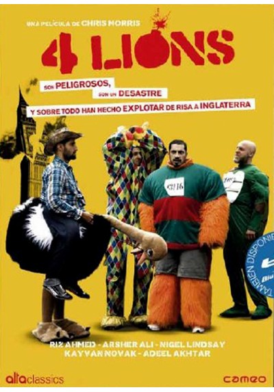 copy of 4 Lions (Blu-Ray) (Four Lions)