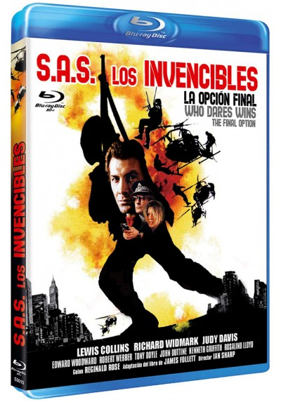 S.A.S. Los invencibles (Blu-ray) (Bd-R) (Who Dares Wins)