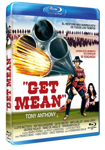 Get Mean (Blu-ray) (Bd-R)