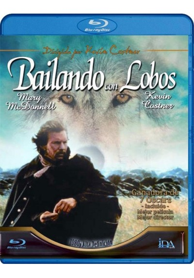 Bailando con Lobos (Dances with Wolves) - Blu-Ray