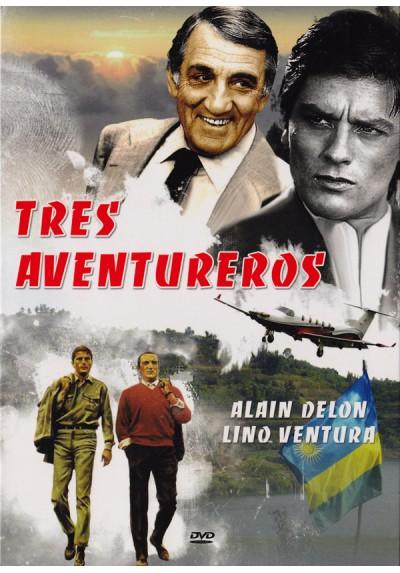 Tres aventureros (Les aventuriers)