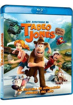 Las Aventuras De Tadeo Jones (Blu-ray)