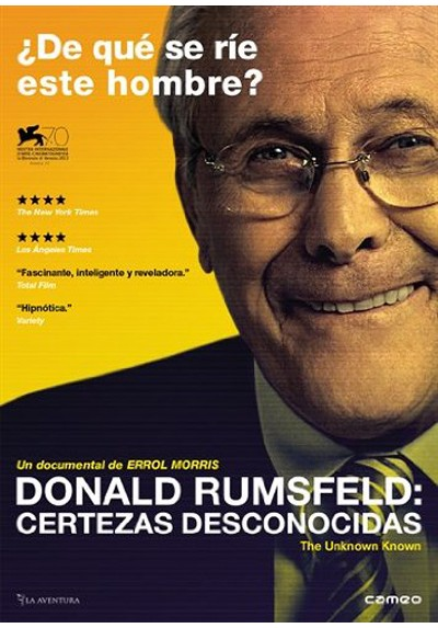 Donald Rumsfeld, certezas desconocidas (V.O.S) (The Unknown Known: The Life and Times of Donald Rumsfeld)