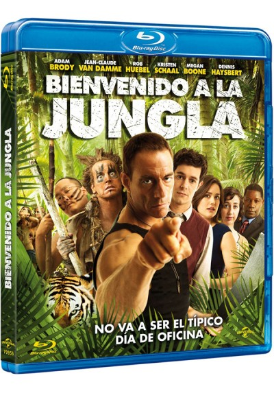 Bienvenido a la jungla (Blu-ray) (Welcome to the Jungle)