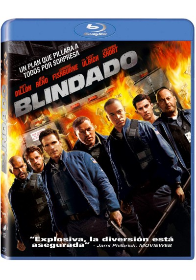 Blindado (Blu-ray) (Armored)