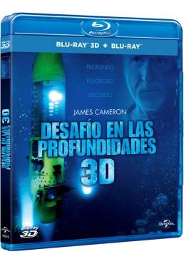 James Cameron: Desafío En Las Profundidades (BD 2D + BD 3D) (Blu-ray)