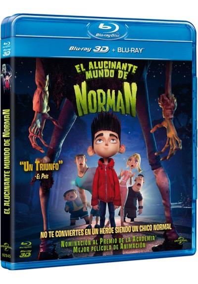 El alucinante mundo de Norman (Blu-ray - Blu-ray 3D) (Paranorman)