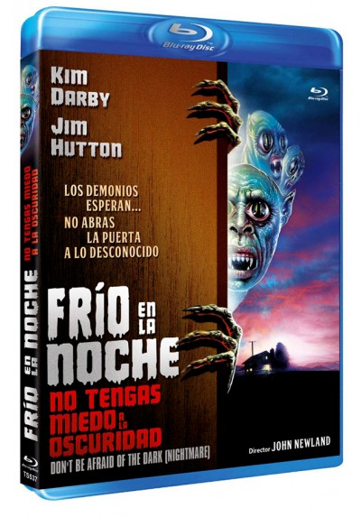 Frío en la noche (Blu-ray) (Don't Be Afraid of the Dark) (Nightmare)