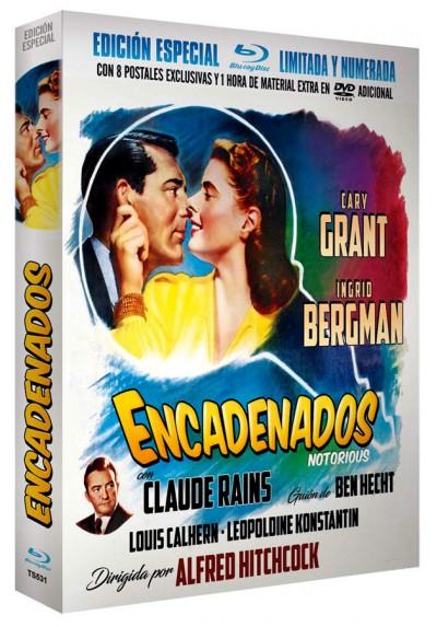 Encadenados - Extras con 8 Postales Edición Limitada y Numerada (Blu-ray + Dvd) (Notorious)