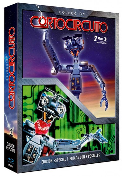copy of Cortocircuito (Ed. Remasterizada) (Blu-Ray) (Short Circuit)