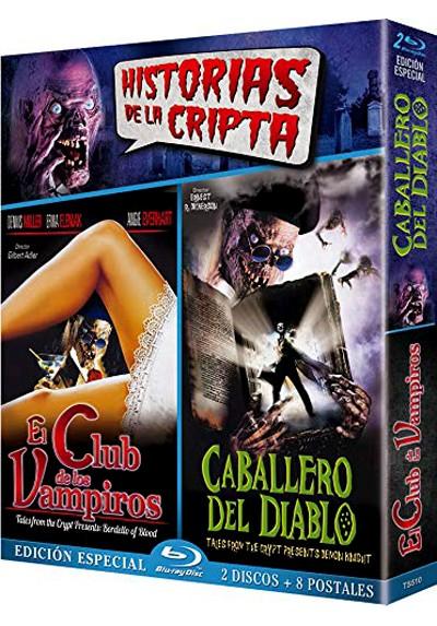 Digipack El Club de los Vampiros + El Caballero del Diablo  - 8 Postales Edición Limitada y Numerada (Blu-Ray) (Short Circuit)
