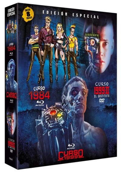 Digipack Curso 1984 (Blu-ray) + Curso 1999 (Blu-ray) + Curso 1999-II (DvD) - 8 Postales Edición Limitada y Numerada