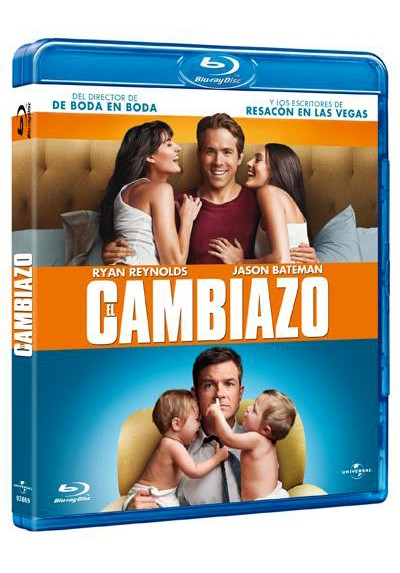 El cambiazo (Blu-ray) (The Change-Up)