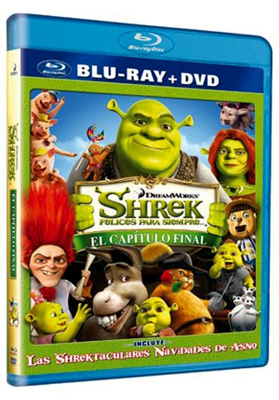 Shrek 4: Felices Para Siempre (Blu-Ray +Dvd) (Blu-ray) (Shrek Forever After)