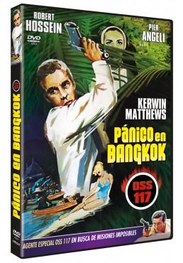 Pánico en Bangkok (O.S.S. 117) (Dvd-R) (Banco à Bangkok pour OSS 117)