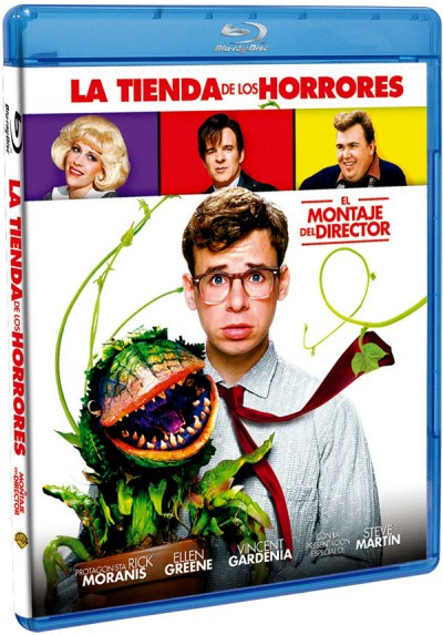 La Tienda De Los Horrores (Blu-ray) (1986) (Little Shop Of Horrors)