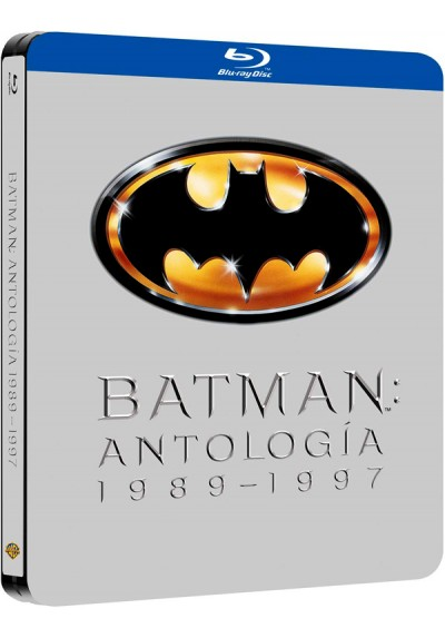 Batman Antología 1989-1997 - Steelbook (Blu-Ray)
