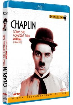 Charles Chaplin: Todas sus comedias para La Mutual (Blu-ray)
