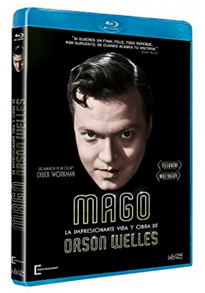 Mago: La impresionante Vida y Obra de Orson Welles (Blu-ray) (Magician: The Astonishing Life and Work of Orson Welles)