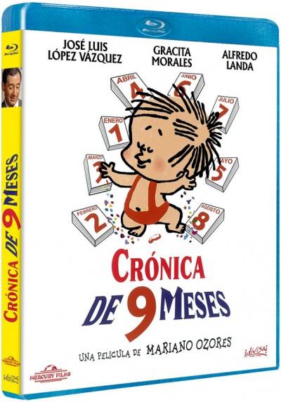 Crónica de nueve meses (Blu-ray)