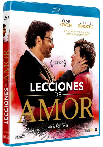 Lecciones de amor (Blu-ray) (Words and Pictures)