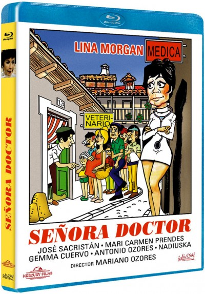 Señora doctor (Blu-ray)