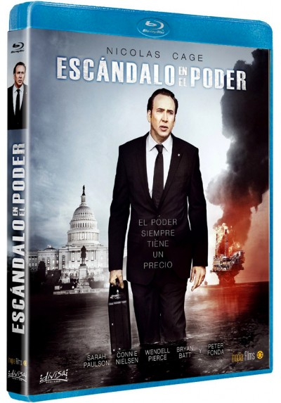 Escándalo en el poder (Blu-ray) (The Runner)