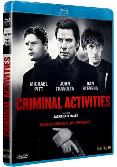 Actividades criminales (Blu-ray) (Criminal Activities)