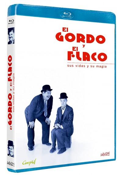 El Gordo y el Flaco: Sus vidas y su magia (Blu-ray) (Laurel and Hardy: Die komische Liebesgeschichte von 'Dick & Doof')