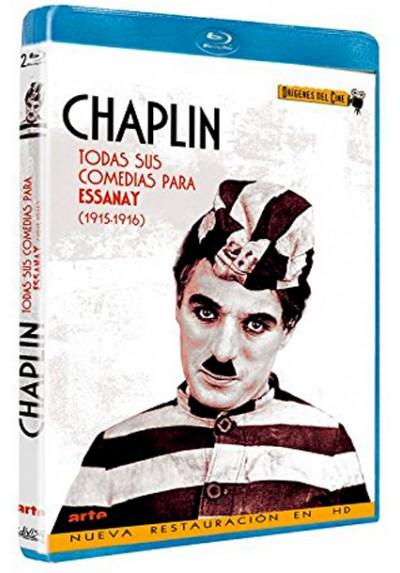 Charles Chaplin : Todas sus comedias para Essanay (Blu-ray)