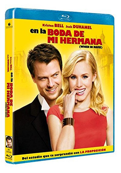 En la boda de mi hermana (Blu-ray) (When in Rome)