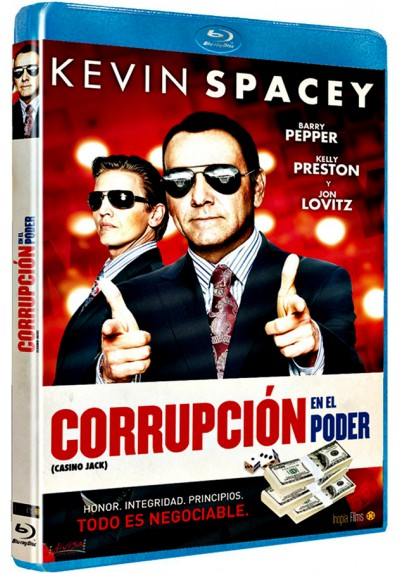 Corrupción en el poder (Blu-ray) (Casino Jack)