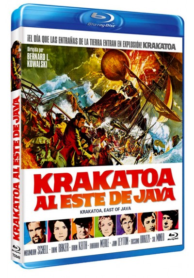 Krakatoa, Al este de Java (Blu-ray) (Krakatoa, East of Java)