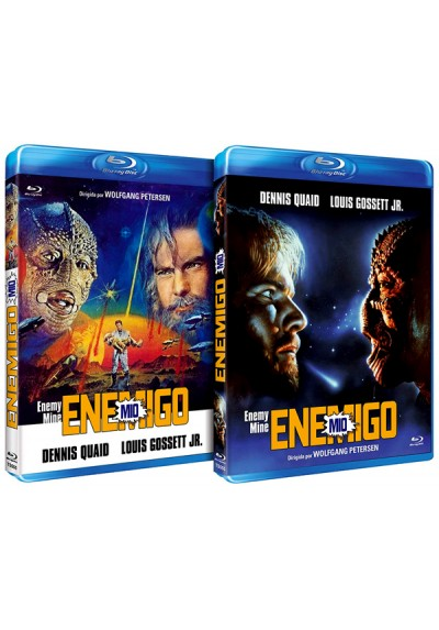 Enemigo mío (Blu-ray) (Enemy Mine) (Caratula Reversible)